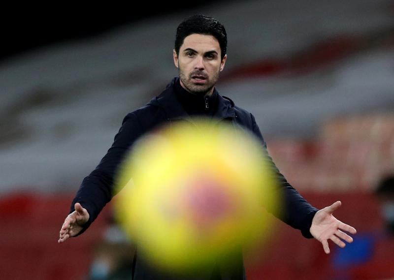 Arsenal boss Mikel Arteta aims at trimming the squad in January