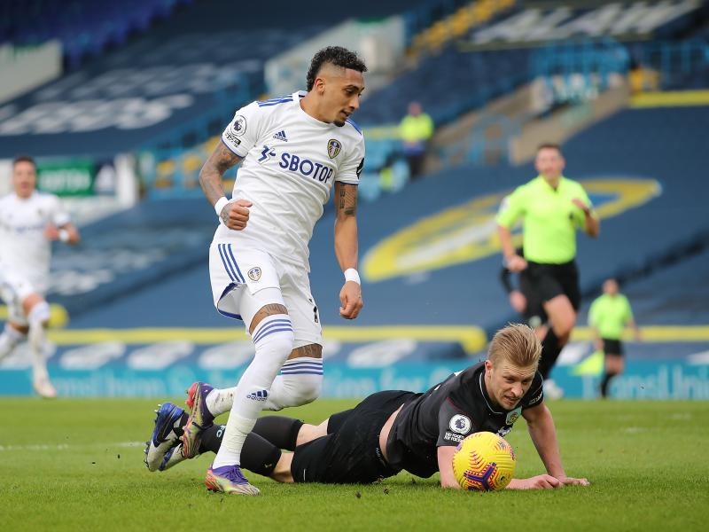 Leeds United winger Raphinha tipped to join Liverpool