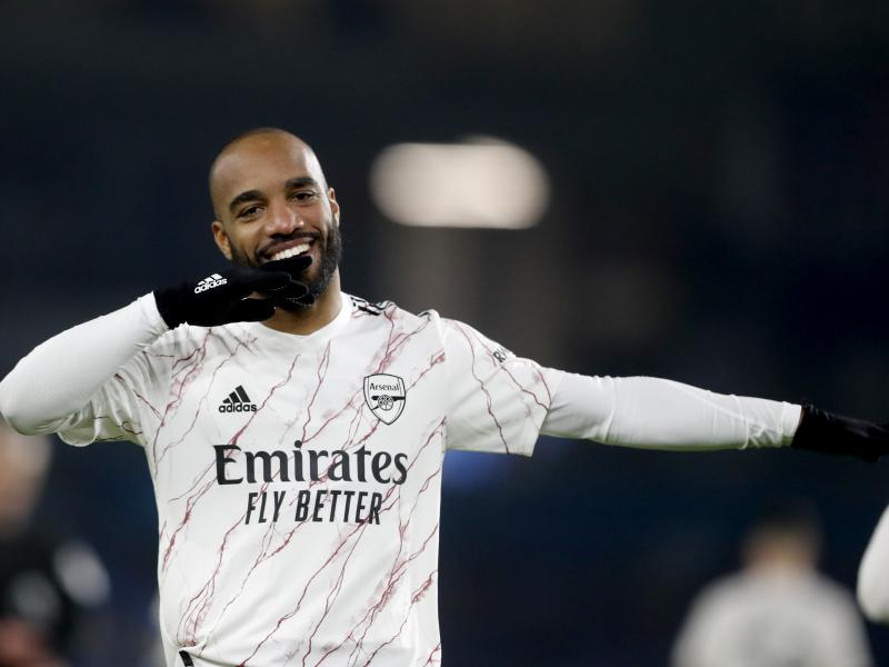 Lacazette on target as Arsenal edge out Brighton, Leeds demolish West Brom