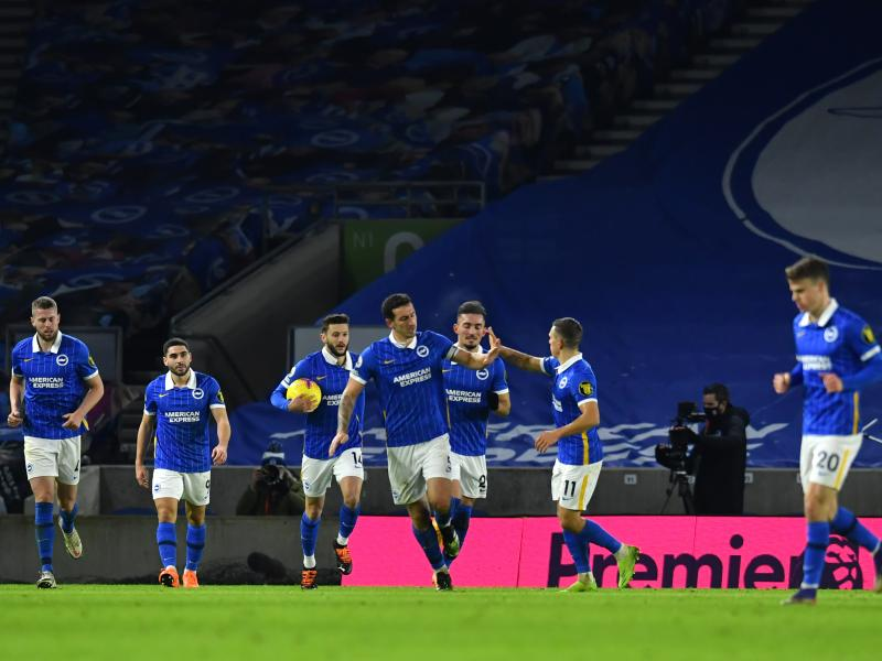 Brighton 3-3 Wolves: Seagulls come from two goals down to salvage point in six-goal thriller