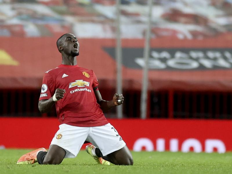 Man United begin new contract talks with Eric Bailly