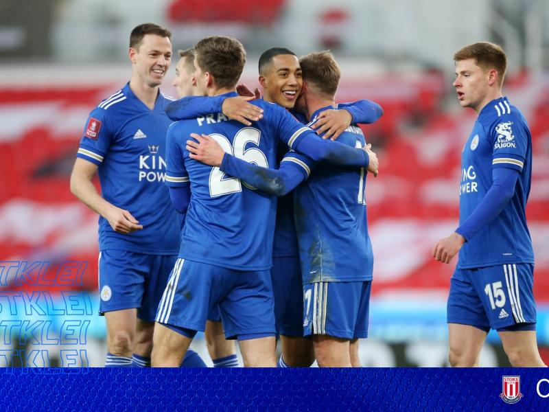 FA Cup Results: Leicester stroll past Stoke City while Eveton narrowly beat Rotherham Town