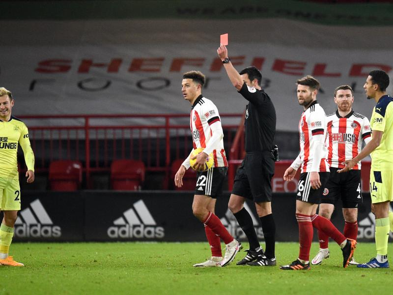 🔴 Ryan Fraser sets unwanted record with red card against Sheffield United