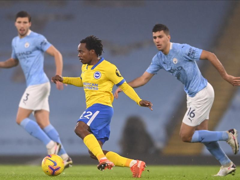 🇿🇦 Pep Guardiola recognizes Percy Tau's quality