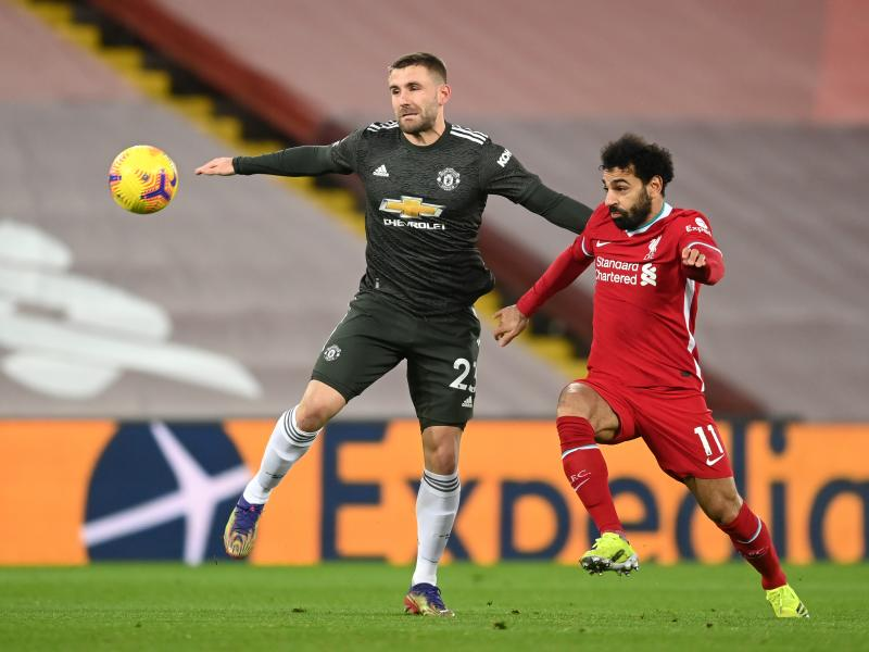 Shaw: Man United disappointed with Liverpool draw