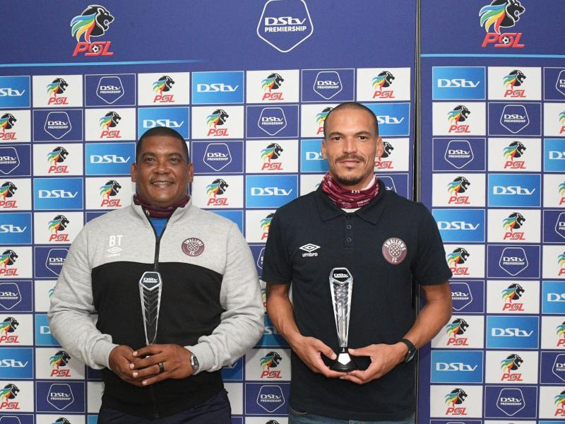 🇿🇦 Swallows FC duo win PSL Coach and Player of the Month