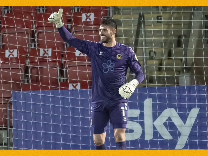 WATCH: Goalkeeper scores from own area in last night's League Two action