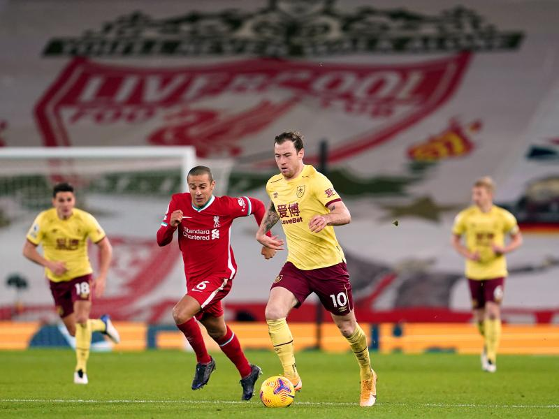 Liverpool 0-1 Burnley: Barnes' penalty gifts the Clarets first victory at Anfield in 46 years