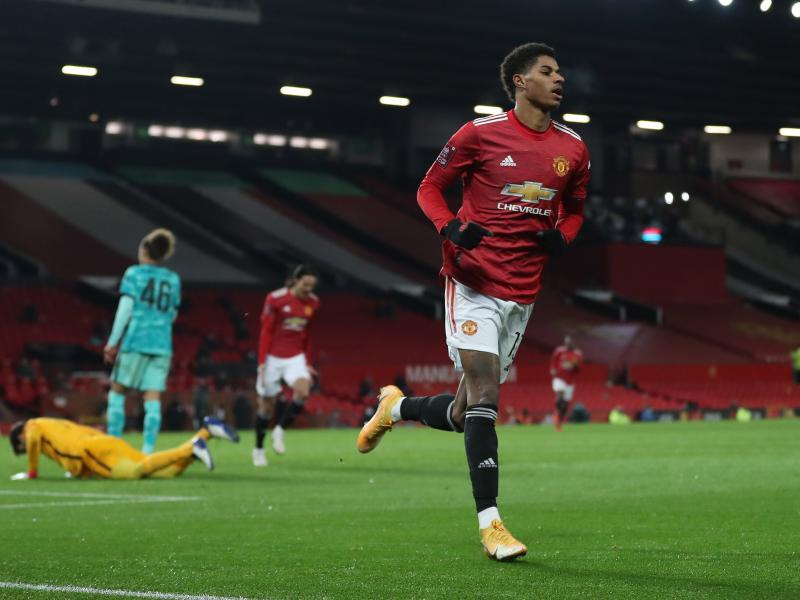 Rashford pulls level with Man United legend on goal-scoring charts, sets sights on more greats