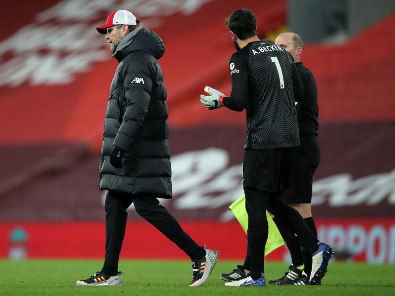 Klopp backs Alisson to rebound against Leicester after mistakes against Man City