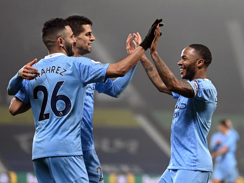 West Brom 0-5 Man City: Rampant City goes top after easy win