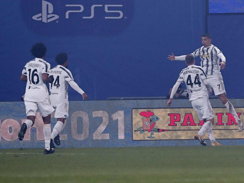 Coppa Italia: Cr7 double gives Juventus Cup edge over Inter Milan in semi-final