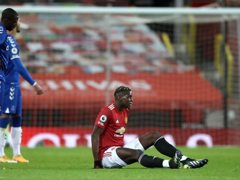 Pogba ruled out for the rest of the month