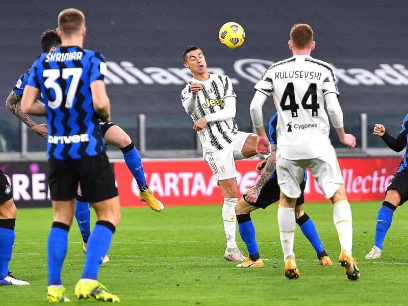Juventus 0-0 Inter Milan: Cristiano Ronaldo first leg brace takes Juve to the final