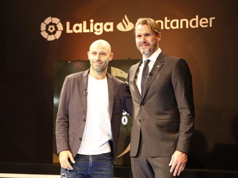 🇦🇷 Javier Mascherano joins the cast of footballing legends involved in LaLiga's Ambassadors project