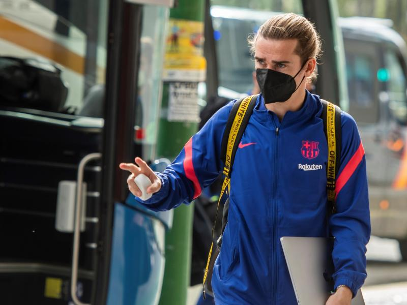 Griezmann to miss Barcelona's first pre-season friendly after returning to training