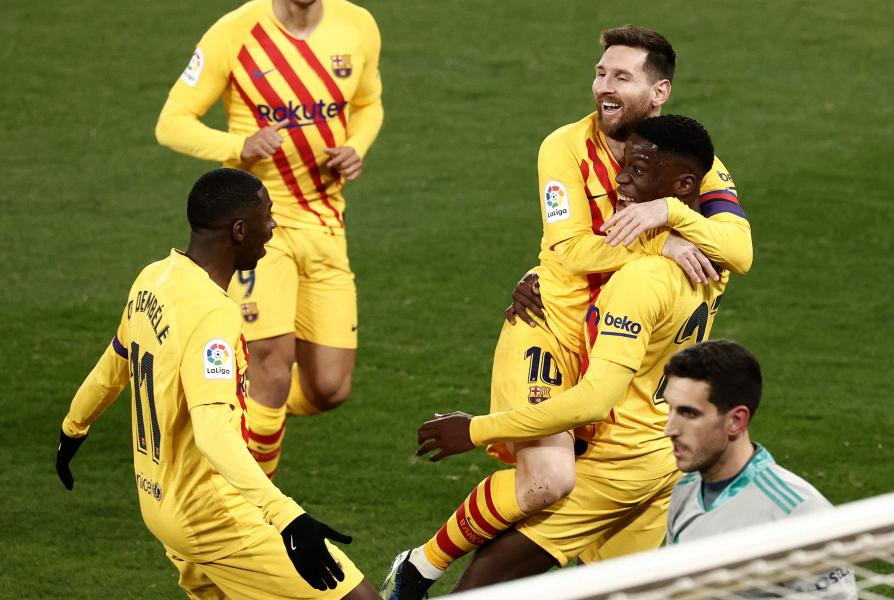 Barcelona set new record in yesterday's 2-0 win at Osasuna