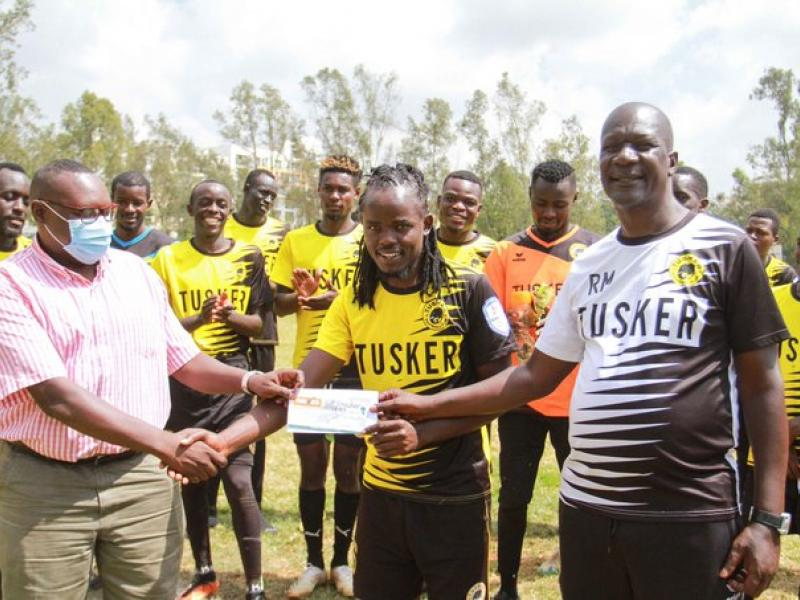 🇰🇪 KPL: Jackson Macharia wins Tusker player of the month gong