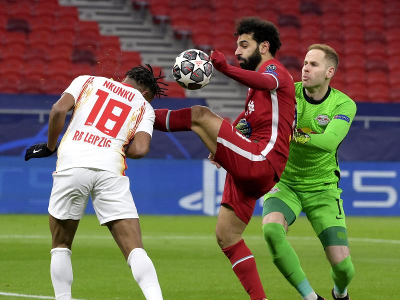 Champions League: Liverpool ease past RB Leipzig to advance to quarter finals