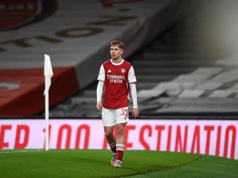 Smith Rowe picks up injury while on international duty, doubtful for Liverpool clash
