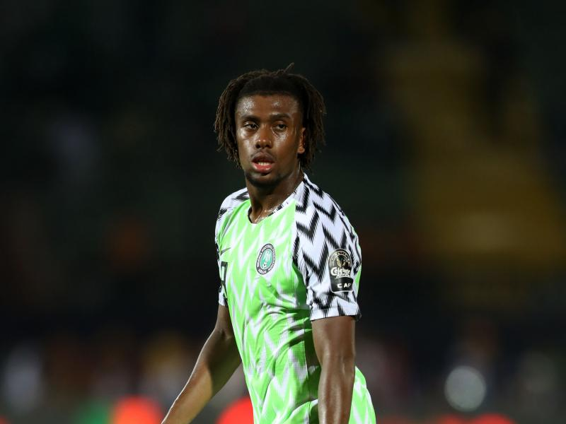 Nigeria's Alex Iwobi cleared to face Lesotho after testing negative for COVID-19