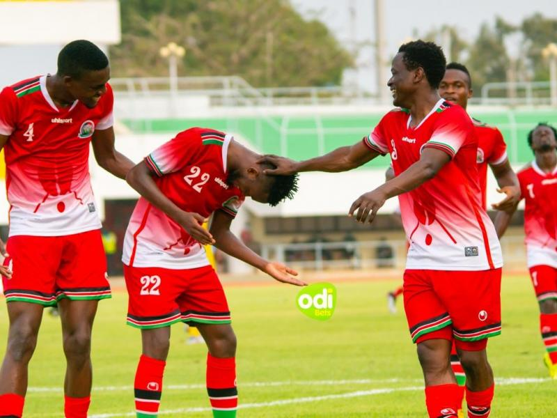 Harambee Stars up two places in latest FIFA rankings