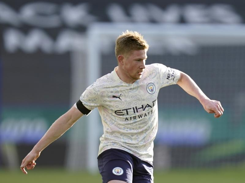 Guardiola provide a fresh injury update on Kevin de Bruyne