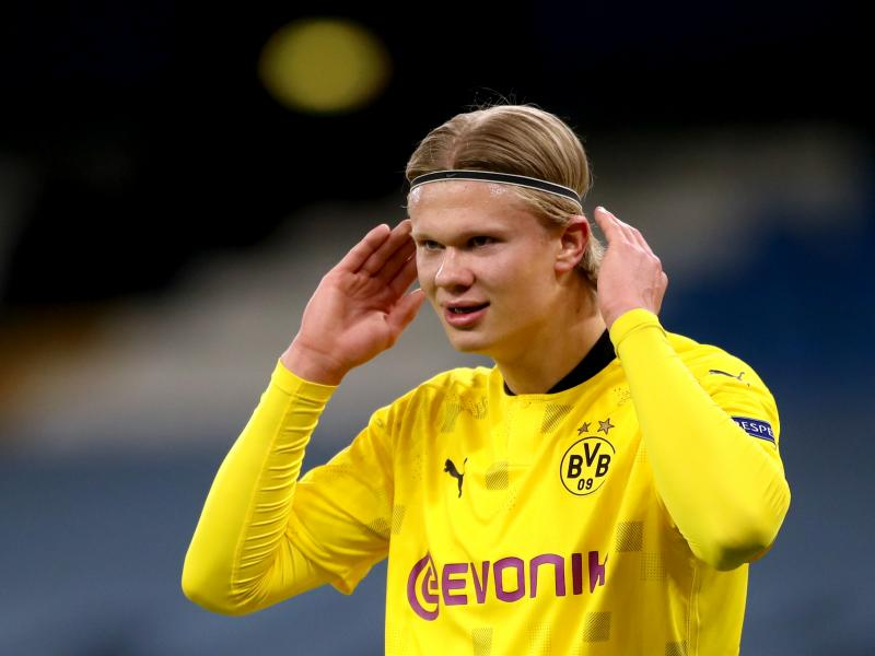 Man United to move for Haaland only if Cavani leaves