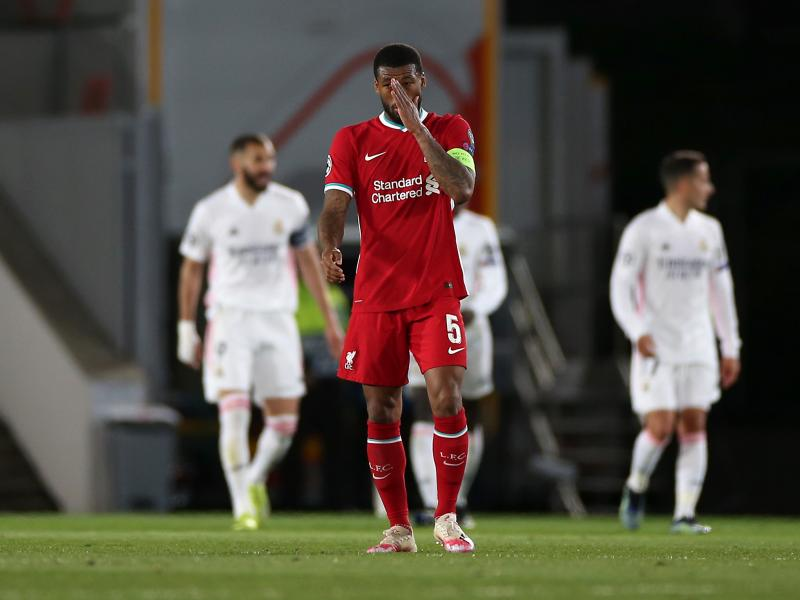 Wijnaldum refuses to give up on Real Madrid tie