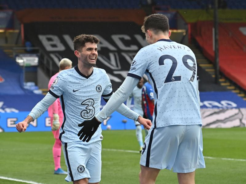 Crystal Palace 1-4 Chelsea: Pulisic scores twice as the Blues humble the Eagles