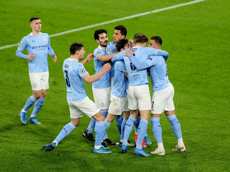 Man City come from goal down to storm Champions League semi-finals