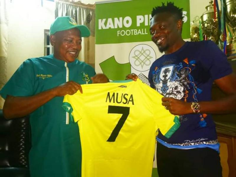 🇳🇬 Ahmed Musa to play for free without payment, says Pillars chairman