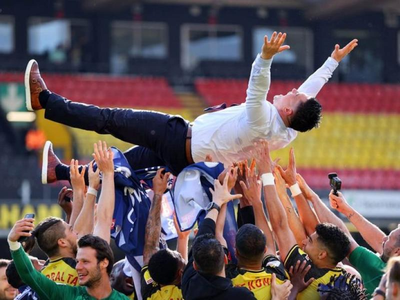 Watford secure promotion to the Premier League