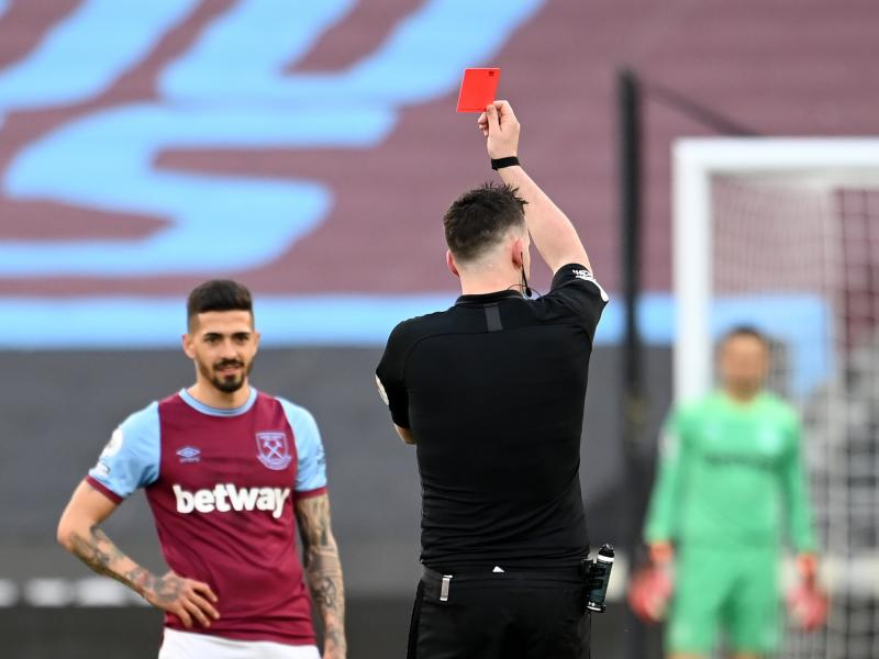 Fabian Balbuena's red card against Chelsea overturned