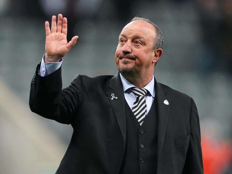 Benitez says he is hoping to return to the Premier League.
