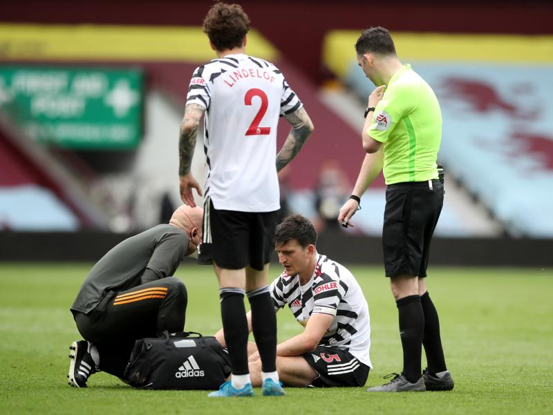 Harry Maguire gives an update on his injury opens