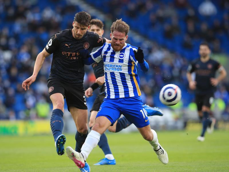 Brighton 3-2 Man City: The Seagulls stage comeback to stun champions for the first time in over decade