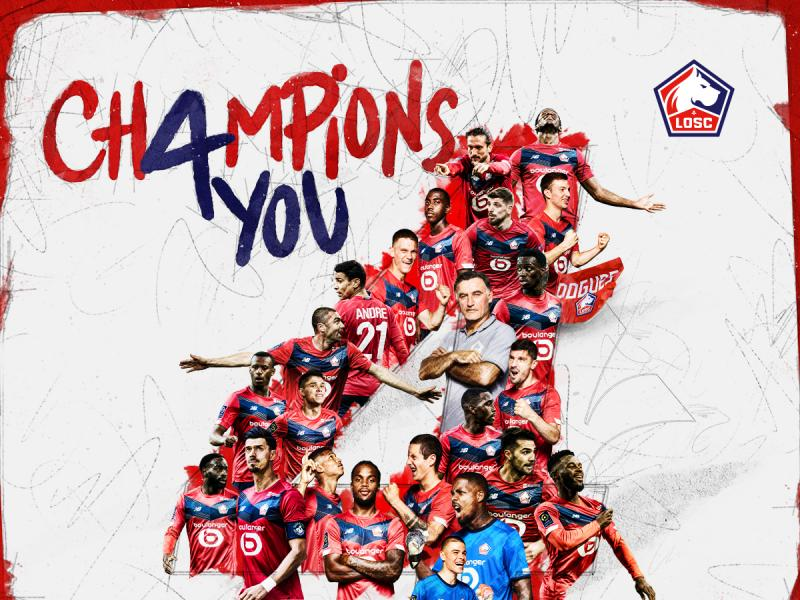 BREAKING: Lille win the French Ligue 1 to end PSG's domination