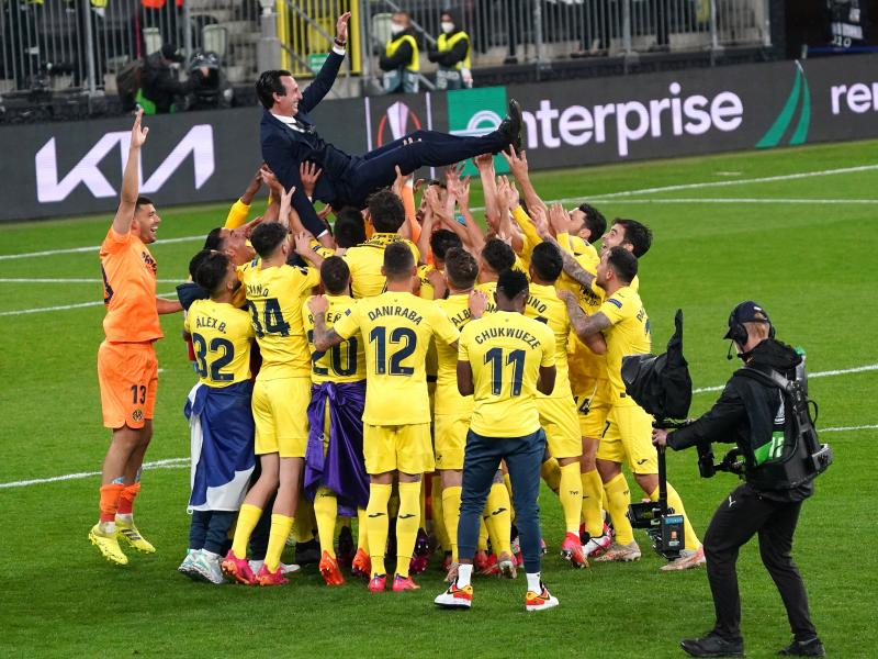 Unai Emery hails his player's mentality after Europa League win