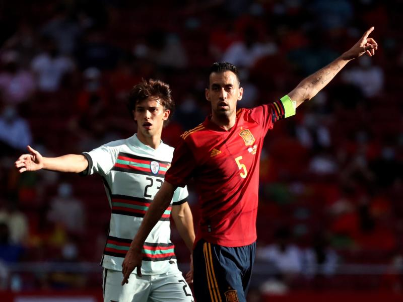 Spain captain Sergio Busquets tests positive for Covid-19