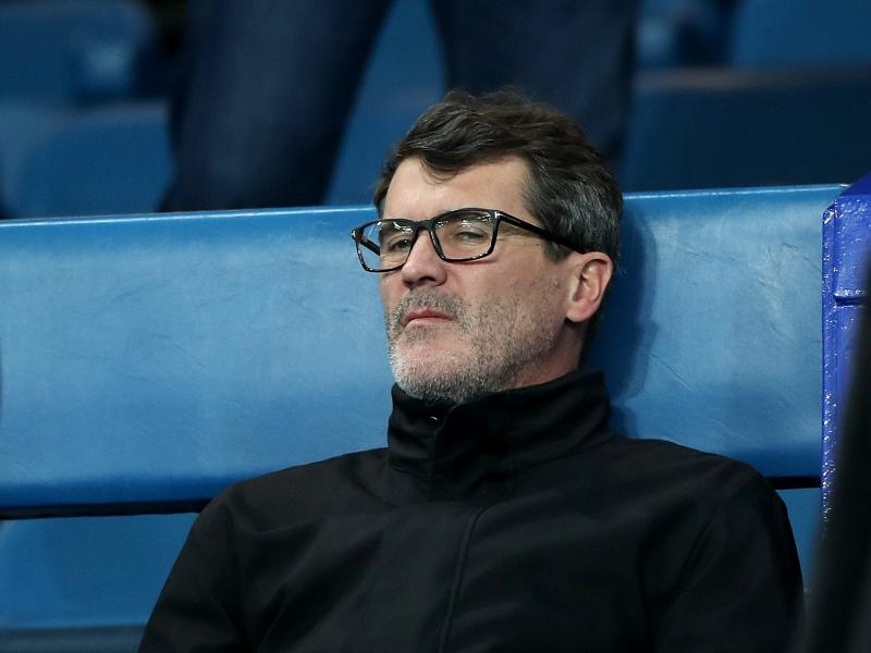 Keane takes sly dig at Vieira