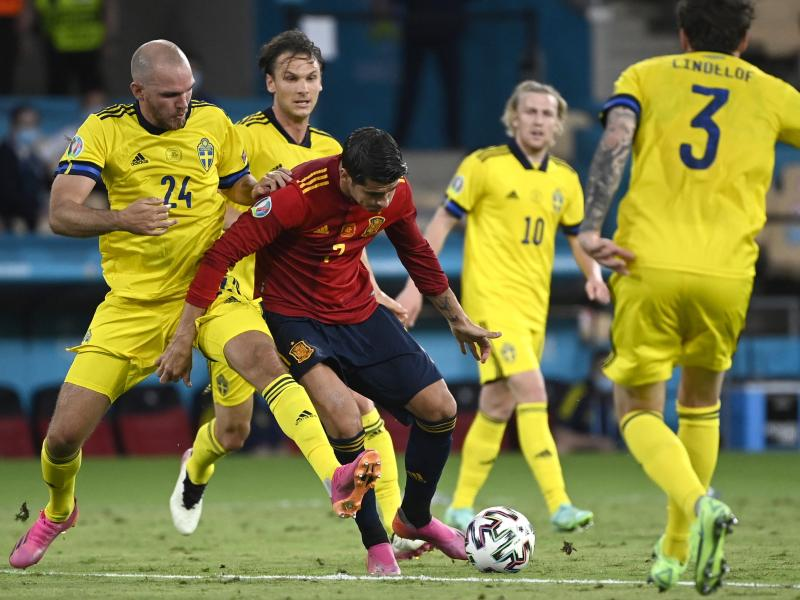 🏆 EURO 2020: Dormant Spain held by resilient Sweden in second Group E match