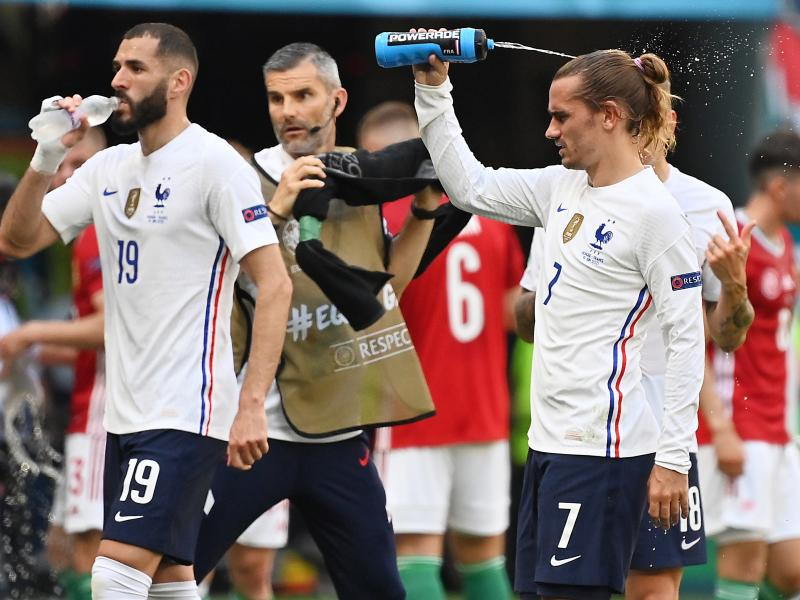 Euro 2020 uses 'cooling breaks' for the first time during Hungary vs France