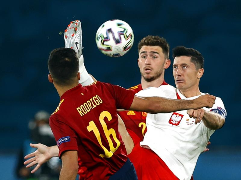 Spain midfielder Rodri admits they were frustrated by Poland