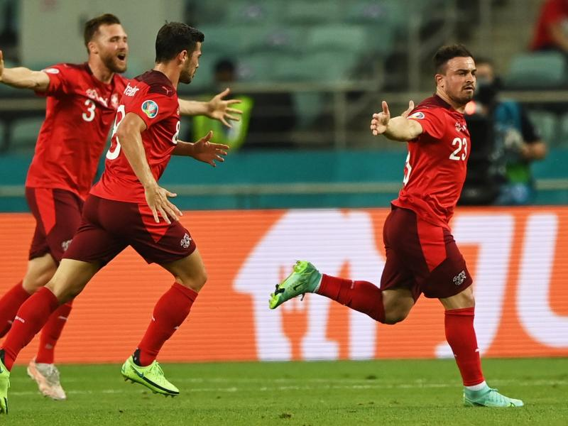 Shaqiri overjoyed after bagging a brace in Switzerland victory