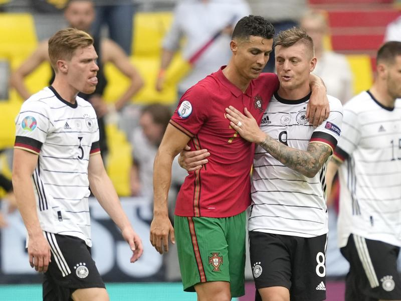 🇩🇪 Kross on what he asked Ronaldo after Germany 4-2 Portugal