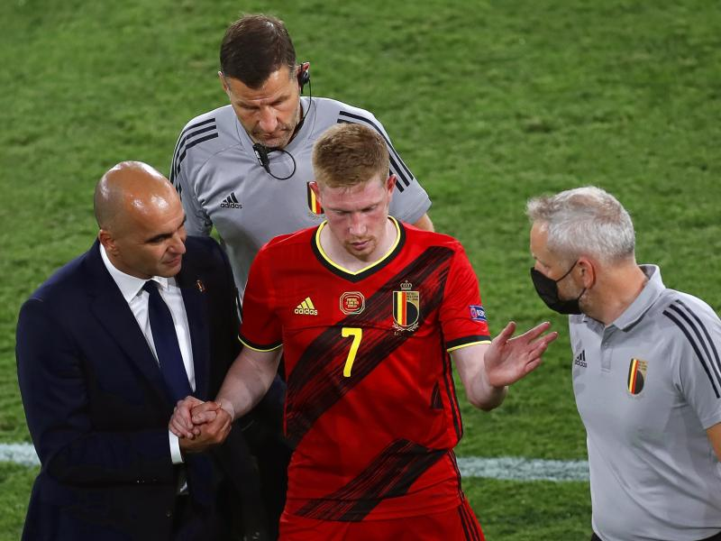 Kevin De Bruyne admits playing with torn ankle ligaments in Italy loss