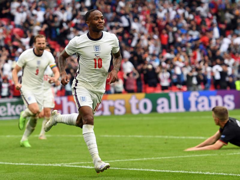 EURO 2020: Raheem Sterling reacts to England victory over Germany