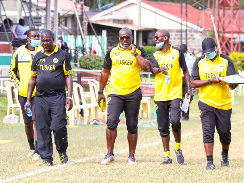 Tusker coach Matano not bothered by past results ahead of AFC Leopards clash