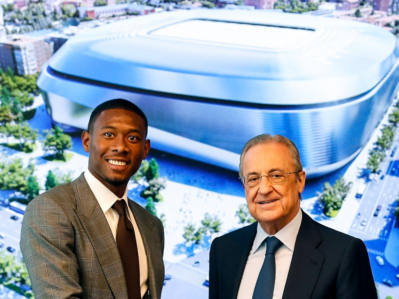 🇦🇹Breaking: Real Madrid present David Alaba with sumptuous unveiling